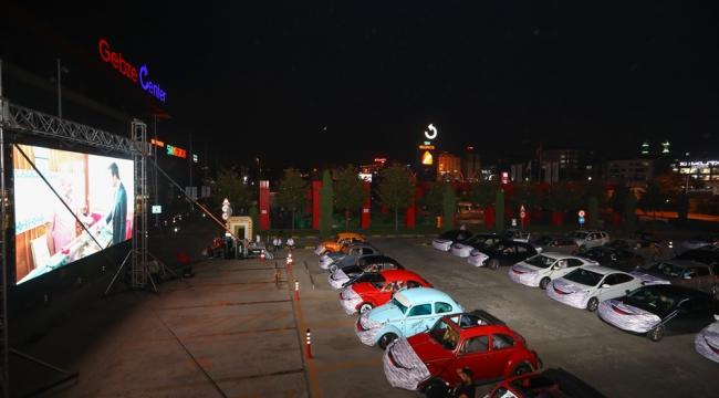 Gebze Center'da arabalı sinema geceleri başladı