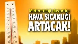 Kocaeli'de hava sıcaklığı artıyor