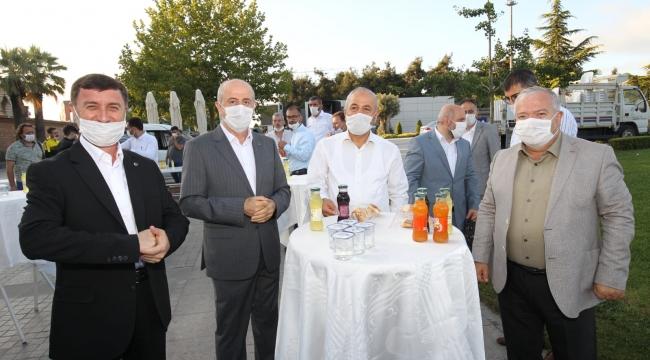 Başkan, Gebzeliler'le bayramlaştı