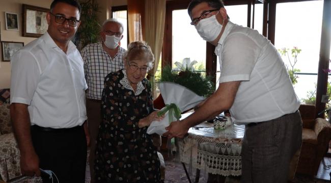 CHP'li başkanlardan Darıcalı Armaner'e duygulandıran ziyaret