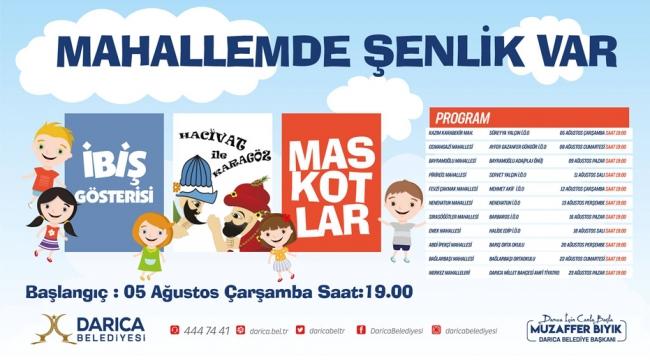 Darıca'da her mahallede çocuklara özel program yapılacak!