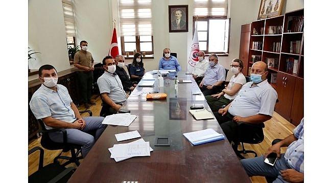 Darıca'da Kurban Bayramı tedbirleri konuşuldu