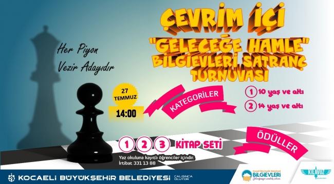 Geleceğe Hamle Satranç Turnuvası çevrimiçi yapılacak