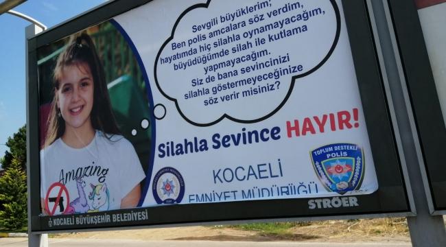Kocaeli Emniyet'ten farkındalık afişleri!