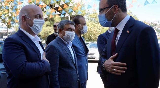 Bakan Kasapoğlu'ndan Darıca'ya tesis müjdesi!