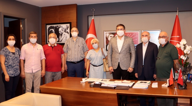 CHP Kocaeli, DSP Kocaeli'yi ağırladı