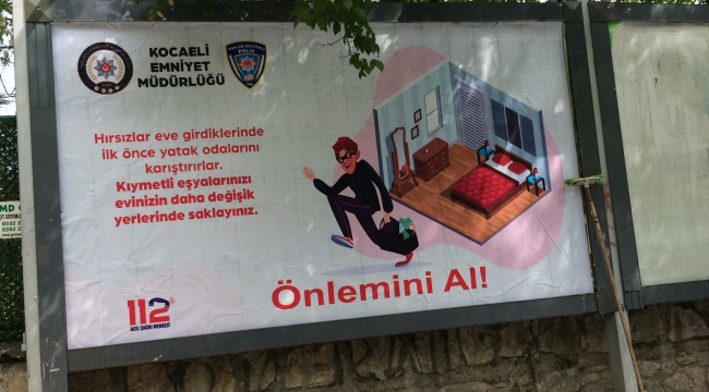 Kocaeli'de Hırsızlara karşı 'önlemini al projesi'