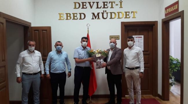 MHP Darıca'dan Kaymakam Kara'ya ziyaret
