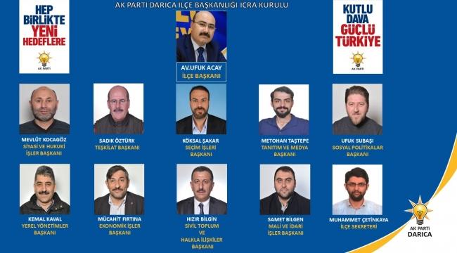 AK Parti Darıca'da İcra Kurulu belirlendi