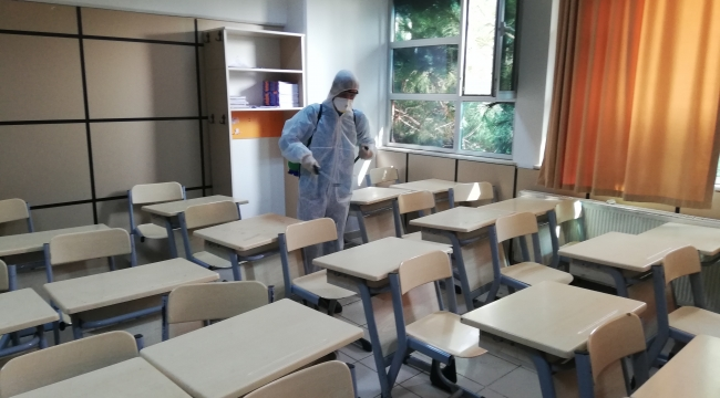 Darıca'da dezenfekte çalışmaları devam ediyor