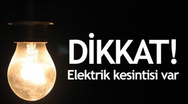 Darıca'da elektrik kesintisi olacak!
