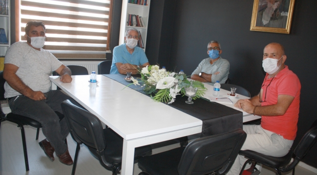 HDP Eş Başkanı'ndan gazetemize ziyaret