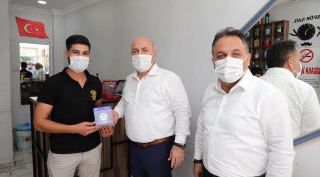 Kuaför gencin projesine Darıca Belediyesi'nden destek