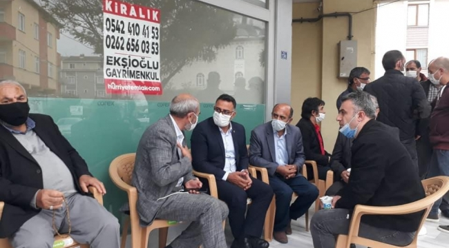 CHP Darıca'dan pazar mesaisi