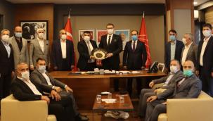 CHP Kocaeli, Kocaeli Ağrı Dernekleri Federasyonu'nu ağırladı