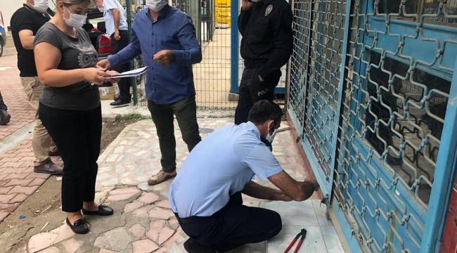 Darıca'da kaçak diş muayenehanelerine baskın yapıldı