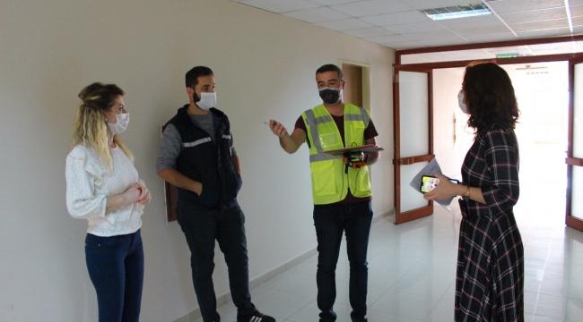 Darıca'daki hastanelerde ortam ölçümleri yapıldı