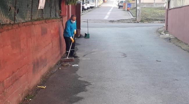 Darıca sokak sokak temizleniyor