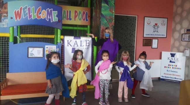 Kale Anaokulu öğrencileri her hafta bir ülkeyi eğlenerek öğreniyor!