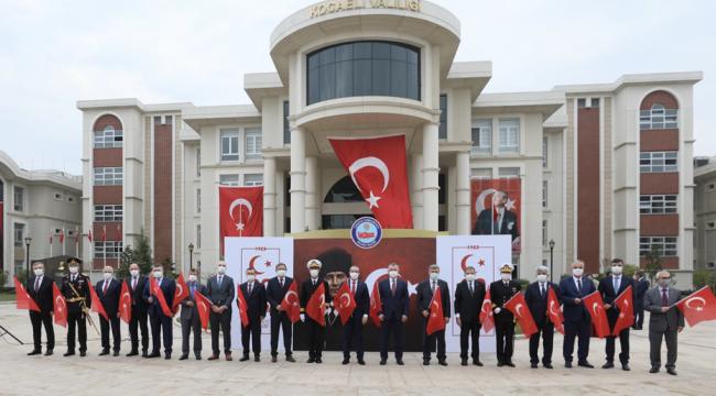 Kocaeli'de 29 Ekim Cumhuriyet Bayramı coşkusu!