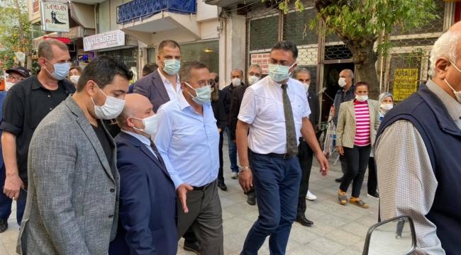 Türkkan, Darıca'da hem vatandaşlarla hem partilileriyle buluştu