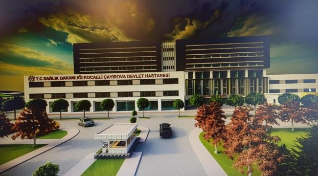 Çayırova Devlet Hastanesi'nin ihalesi Şubat'ta başlıyor