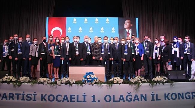 DEVA Kocaeli'nin yeni yönetimi belli oldu