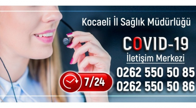 Gebze ve İzmit bölgesine Covid-19 iletişim merkezi