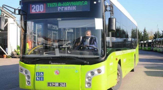 Halk otobüsü şoförünün davranışı takdir topladı