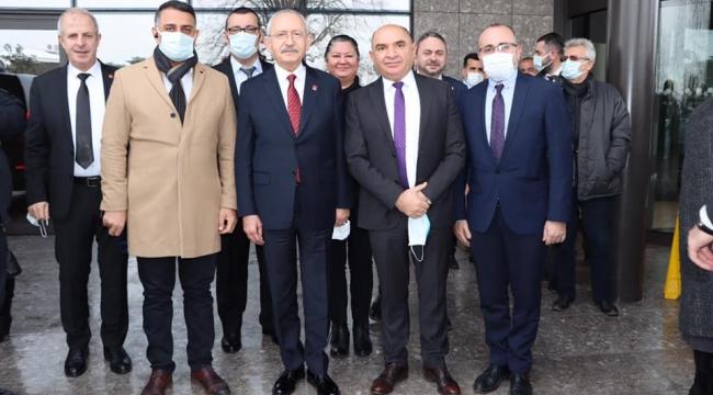 Başkan Aktaş, Kılıçdaroğlu ile buluştu