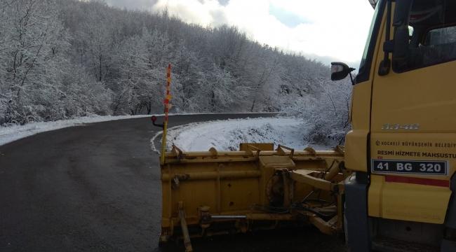 Büyükşehir Kar Timi teyakkuzda