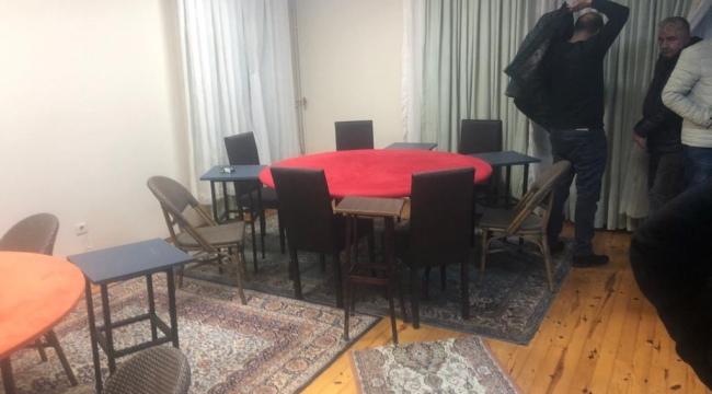 Darıca'da villaya kumar baskını: 16 kişi yakalandı