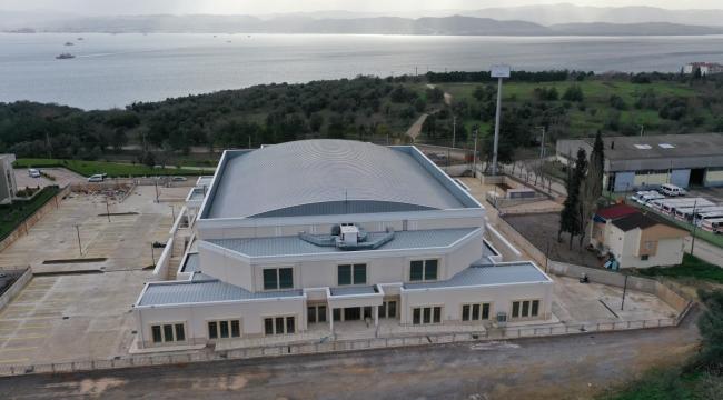 Darıca Spor Salonu'nda çalışmalar tamamlandı