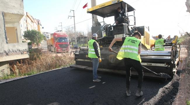 Gebze Belediyesi Fen İşleri 2021'e hızlı başladı