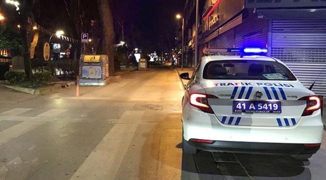 Kocaeli'de 190 kişiye sokağa çıkma cezası!