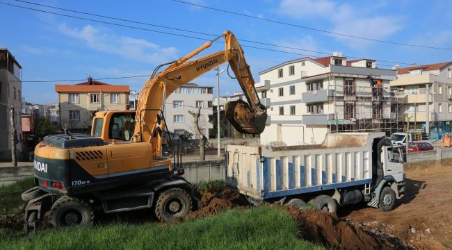 Kazım Karabekir Mahallesi'ne yapılacak olan Halk Sağlığı Merkezi ve Kültür Merkezi projesinde ilk kazma vuruldu!