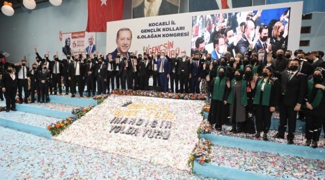 AK Gençler Kocaeli'de, Özdemir yeniden başkan!