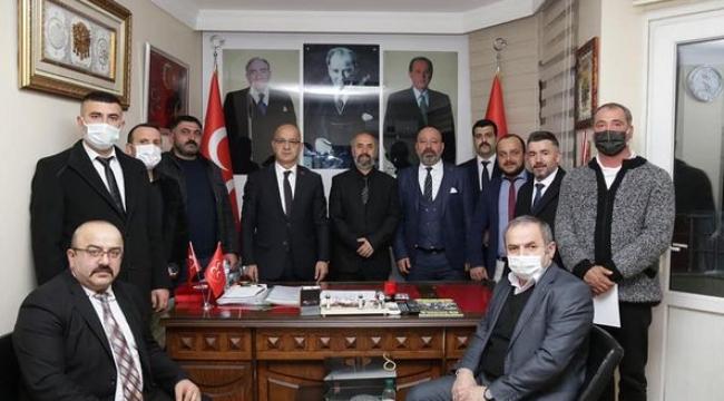 Darıca MHP, Mahalle başkanlarıyla buluştu