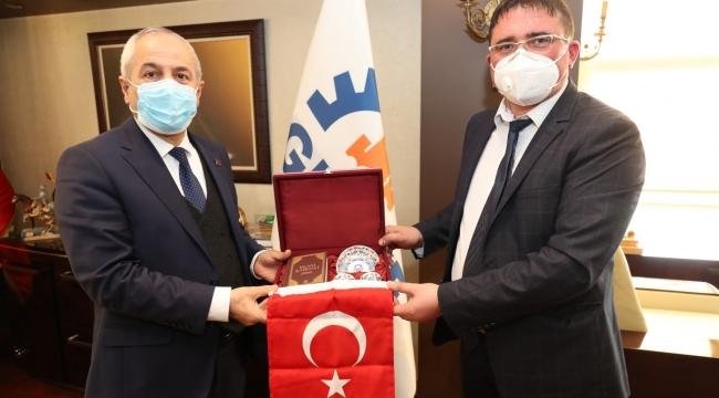 Gebze'ye Bulgaristan Ruven'den konuk başkan