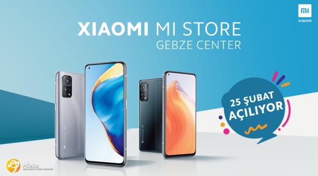 Mi Store Gebze Center AVM'de açılıyor