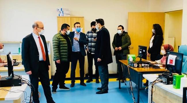 4 ilçenin Sağlık Müdürleri Beylikbağı'nda buluştu