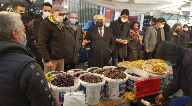 CHP Milletvekilleri, Darıcahalkının sesini meclise taşıyacak!