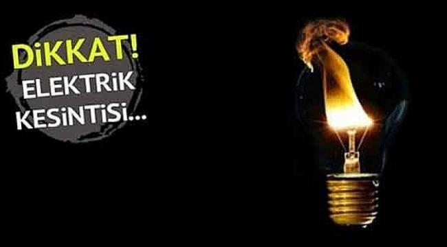 Darıca'da elektrik kesintisi