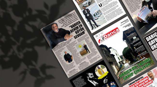 Darıca Dergisi'nin 5. sayısı çıktı!