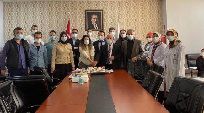 Darıca Farabi'de personeller unutulmuyor