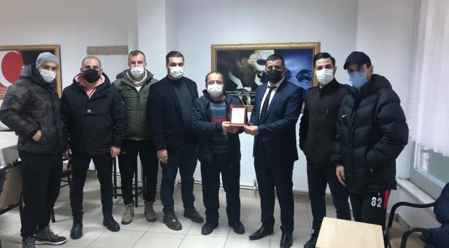Darıca Martıspor'da yeni başkan Bülent M. Çoban oldu!