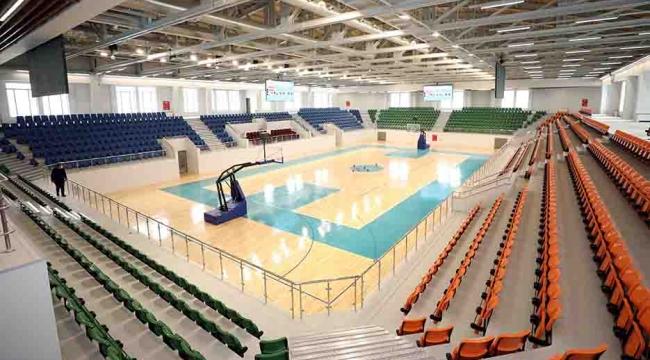 Darıca'nın yeni spor salonu açılışa hazır!