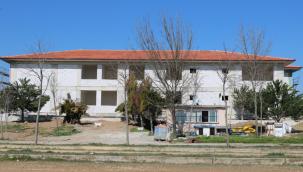 GEBKİM Anaokulu inşaatıson sürat devam ediyor