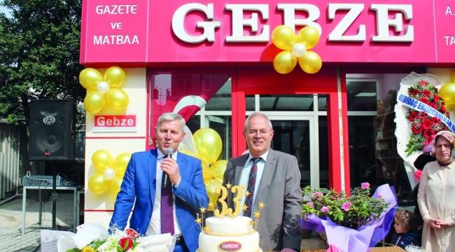 Gebze Gazetesi 37.yılını kutluyor