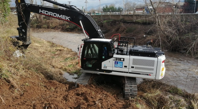 Kocaeli'de 2020 yılında 337 km dere temizliği yapıldı